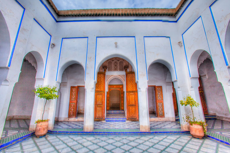 things to do in marrakech photos bahia palace