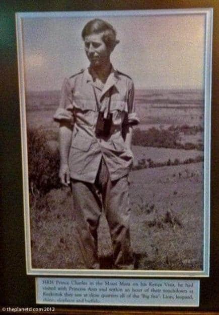 masai mara safari prince charles