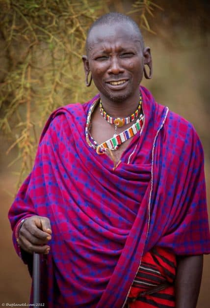 The Masai Chief