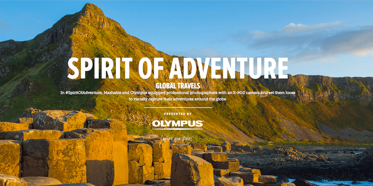 mashable spirit of adventure