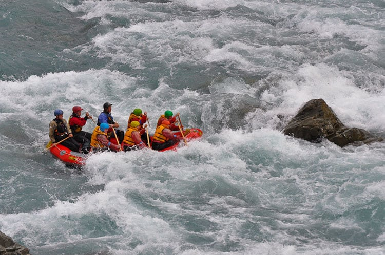 big whitewater in new zealand