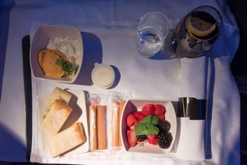 meals cathay pacific flight business class