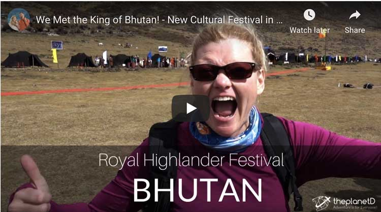 royal highlander festival bhutan things to do