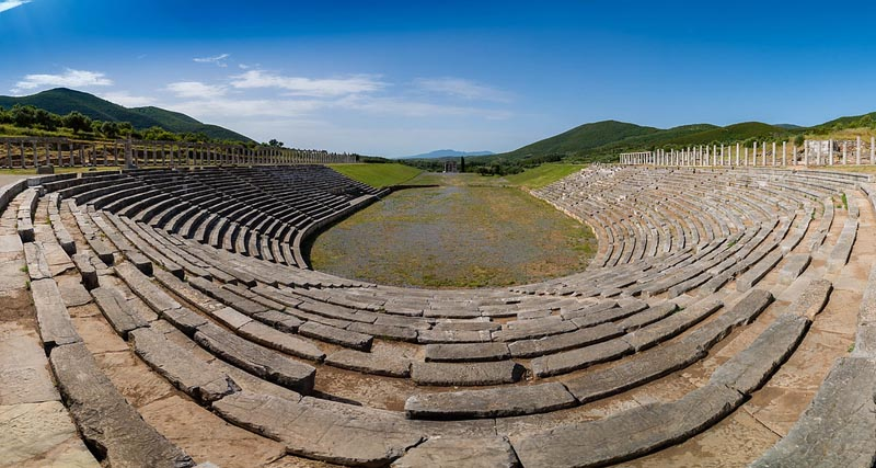 messene ruins greece