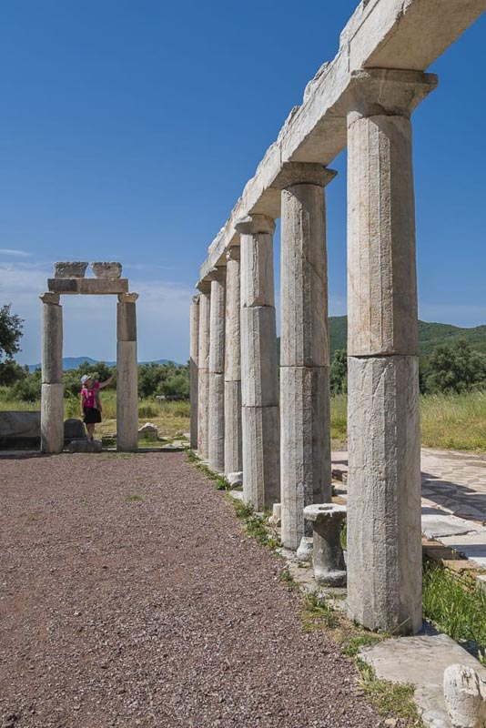 messene greek ruins