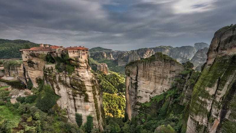 Meteora Monasteries of Greece – Magic Monoliths in Photos