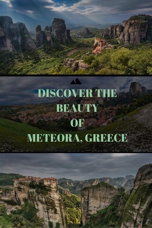 meteora monasteries of Greece are a must visit UNESCO World heritage destination