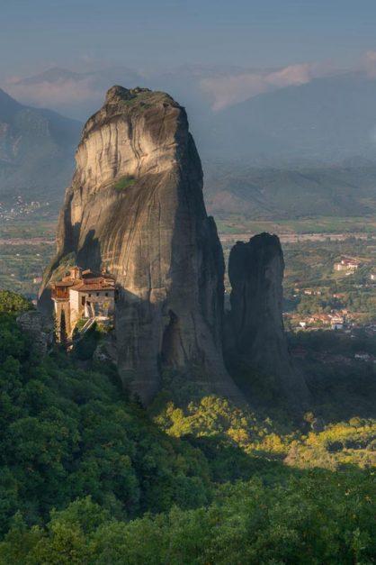 Meteora monasteries and monoliths
