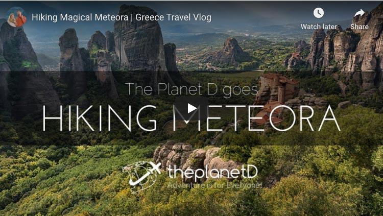 hiking meteora monasteries of greece