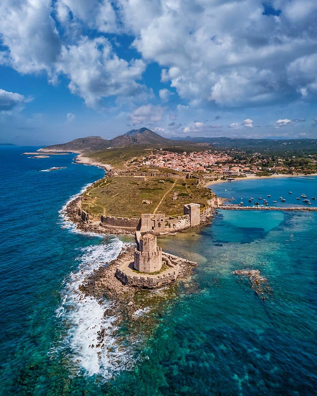 methoni castle day tour from costa navarino