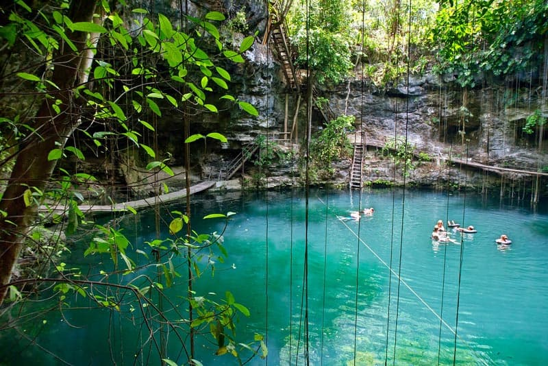 photos of cenotes in Mexico