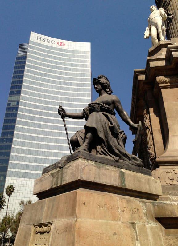 mexico city statue