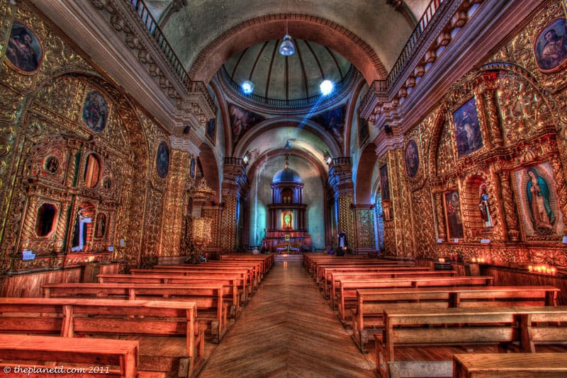 church inside chiapas
