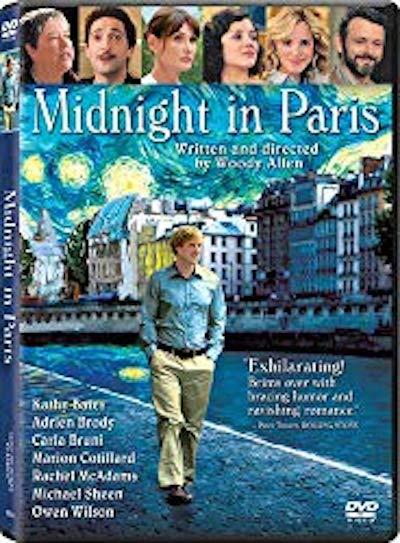 fantasy movies to inspire travel | midnight in paris