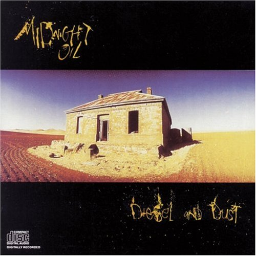 Midnight Oil album cover Diesel and Dust
