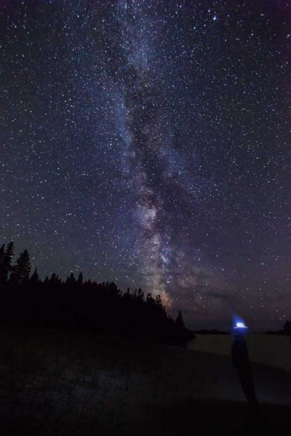 Star Gazing in Pukaskwa National Park