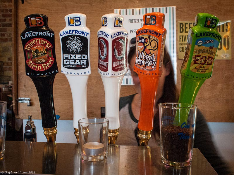 milwaukee food and drink lakefront brewery