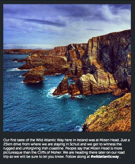 Mizen Head Wild Atlantic Way