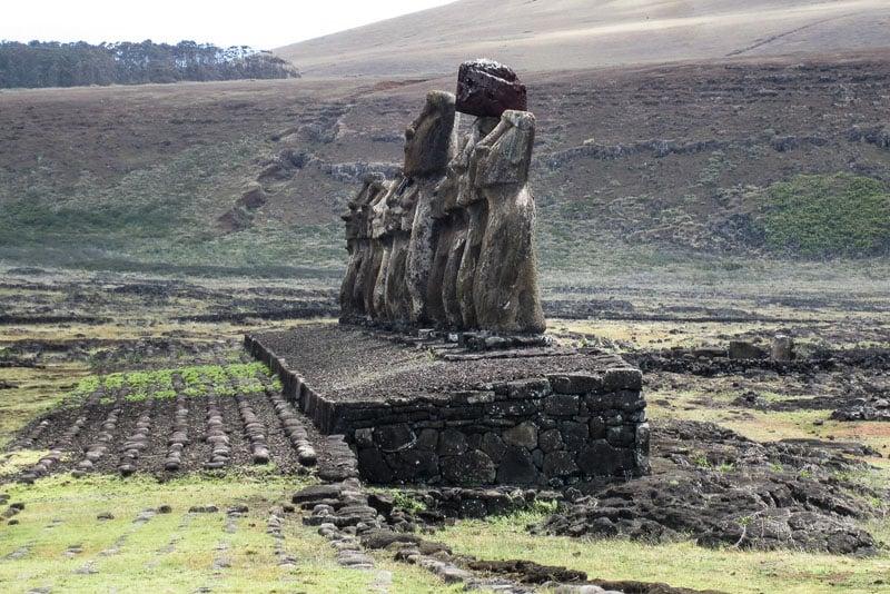 moai ahu tongariki