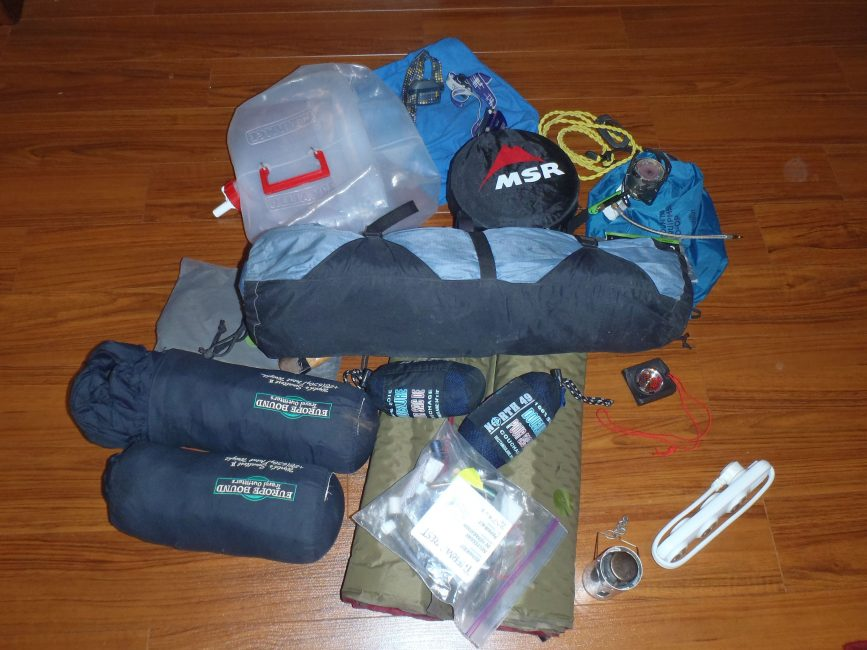 camping-gear-mongol-rally