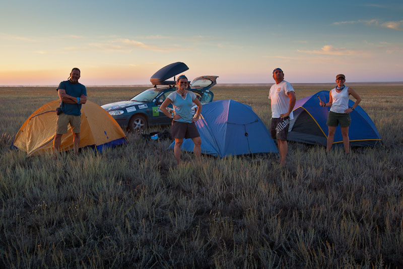 Outdoor Living on The Mongol Rally