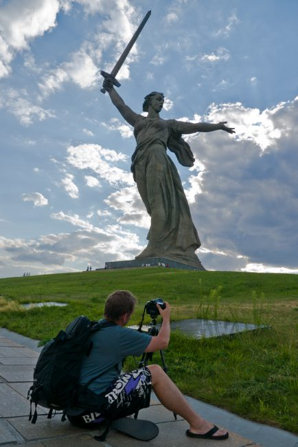 mother russia volgograd