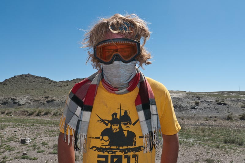 mongol rally participant