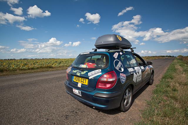 mongol rally road
