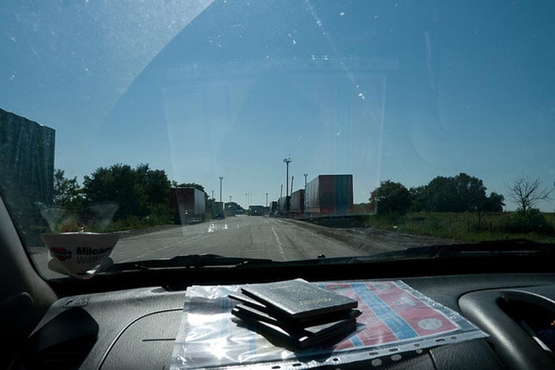 Mongol Rally Dashboard with passports