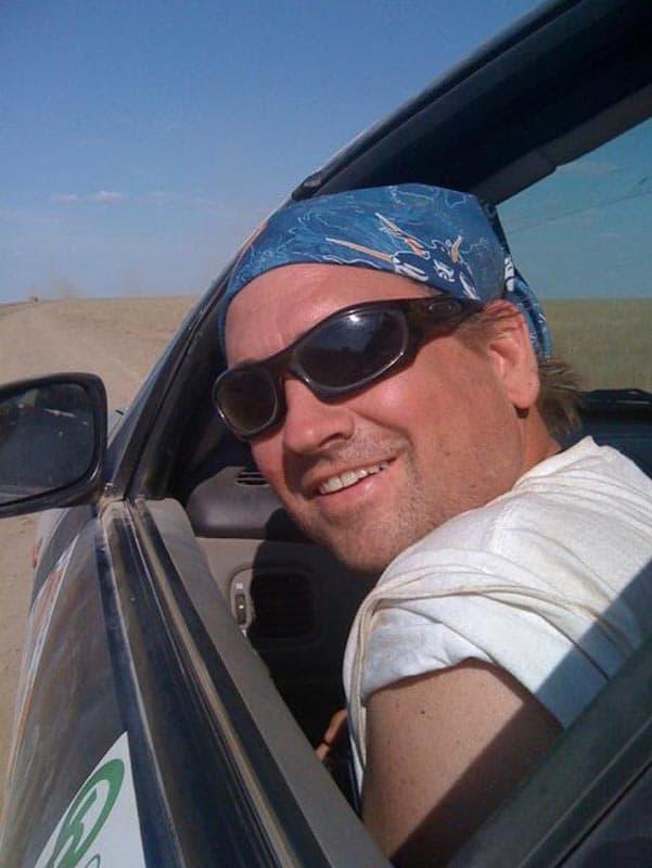mongol rally dave driving