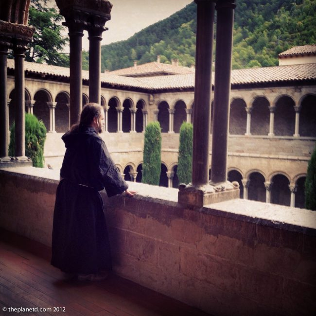 brother benedict monk in Spain