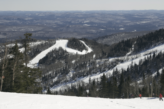 A View of the Ski Hill at Mont Tremblant