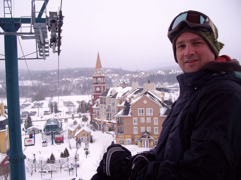 mont tremblant winter dave
