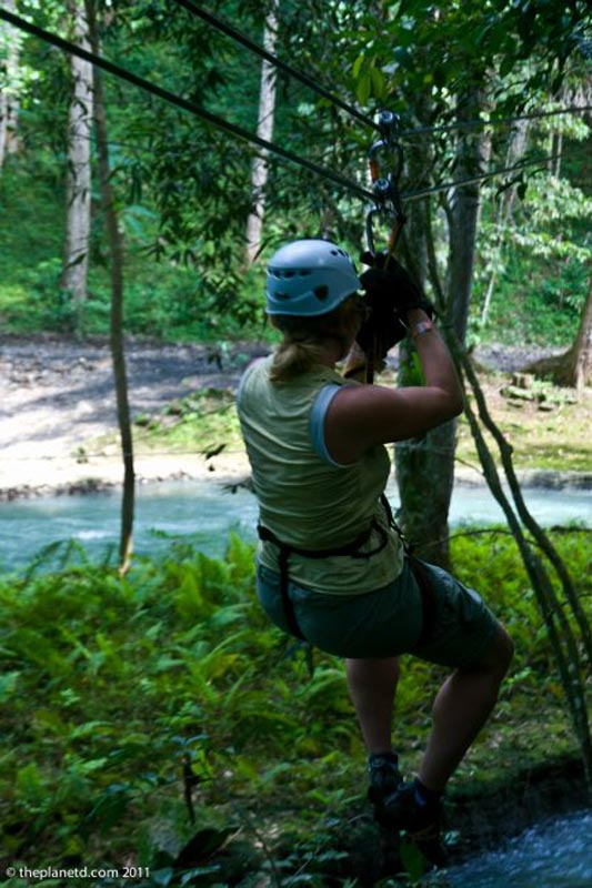 what to do in montego bay zip line