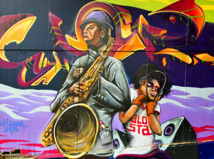 jazz grafitti art