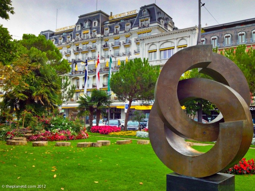 grand hotel suisse in Montreux