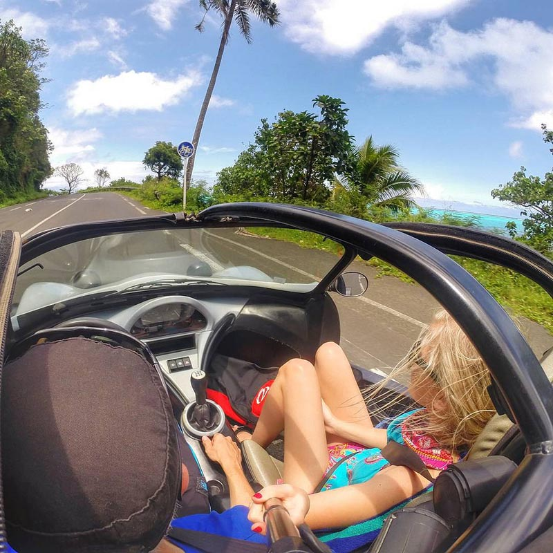 what to do in moorea rent a roadster