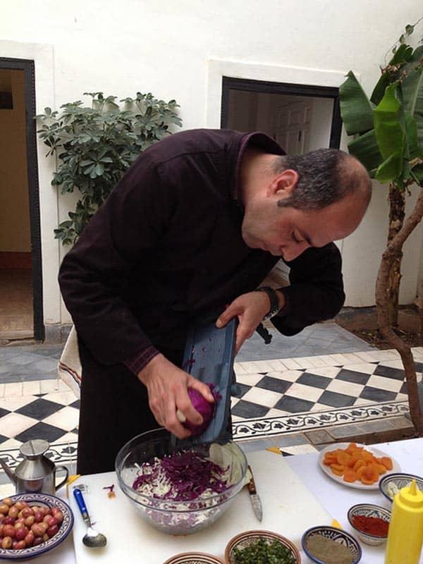 Chef marocain