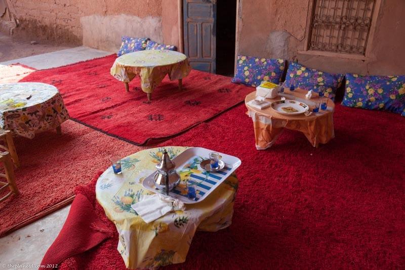 salle à manger marocaine