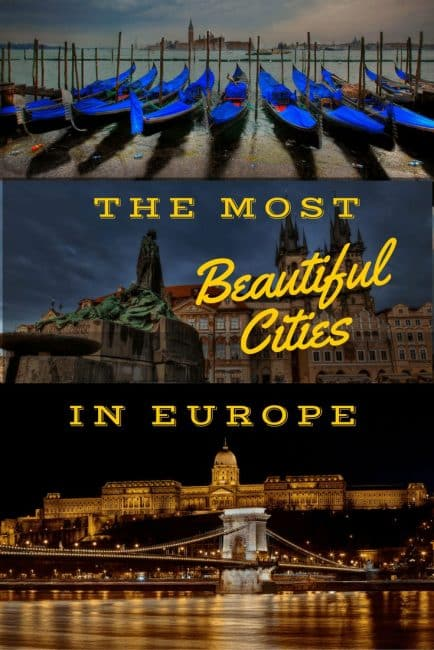17 Of The Most Beautiful Cities In Europe The Planet D: most beautiful cities in the us