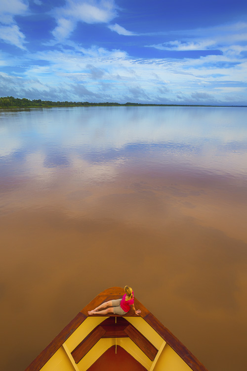 Isolated on the Amazon