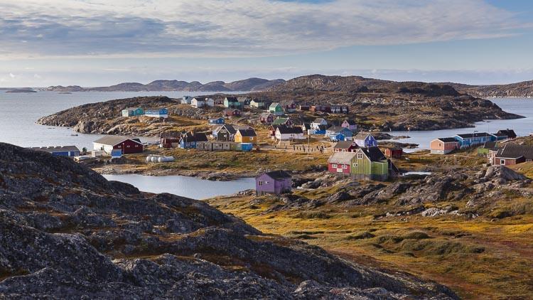 Illulissat Greenland isolated