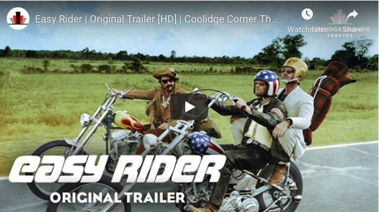 best classic motorcycle film | easy rider