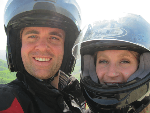 A Motorcycle Adventure, the Journey Begins