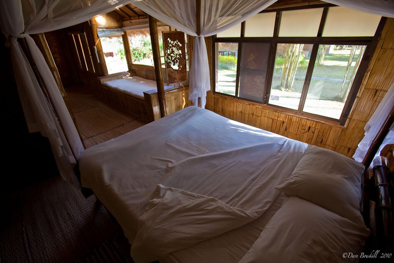 bed on thailand adventure