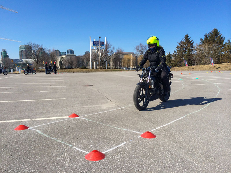 The Drama Taking a Motorcycle Exam