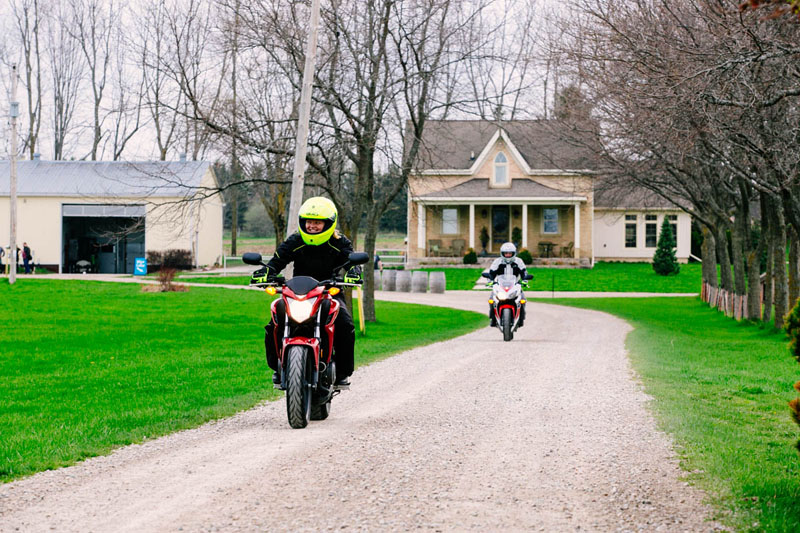 motorcycle practice