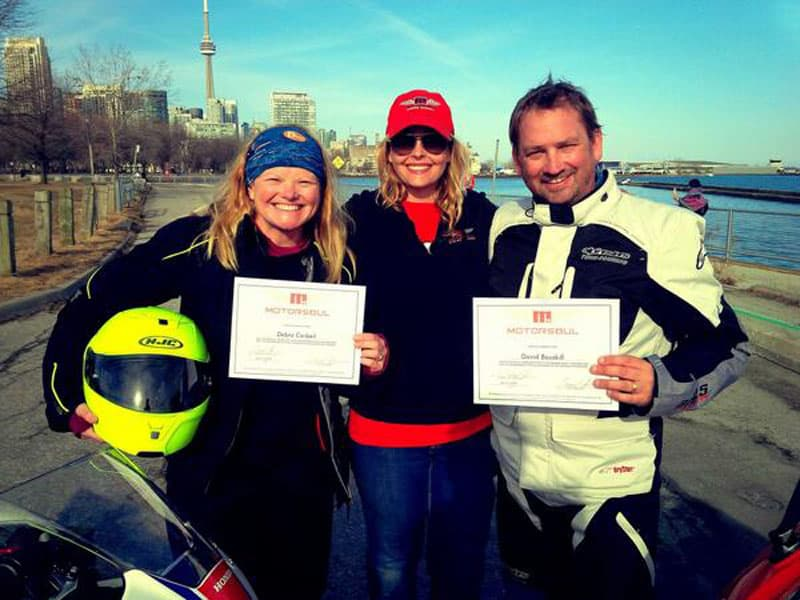 motorcycle lake superior certificates