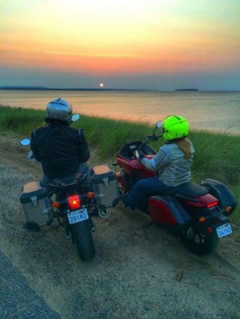 motorcycle trip lake superior honda