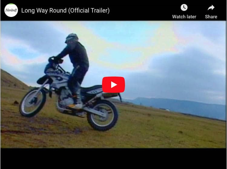 the long way round motorcycle series